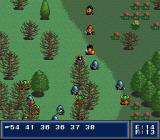 First Queen: Ornic Senki SNES Desolate area. pesky little guys attack
