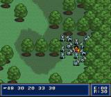 First Queen: Ornic Senki SNES Not an uncommon sight. Stray too far from your comrades and this is what happens