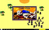 First Queen II: Sabaku no Joō PC-98 Game Over... surrounded and killed by crazy mutant ants