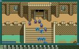 First Queen III PC-98 Battle against demons at the palace gate