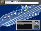 U.S. Navy Fighters DOS Aircraft selection. There are 5 different fighters available