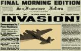 D-Day DOS Newspaper tells about a kind of invasion