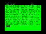 Infidel TRS-80 CoCo The introduction
