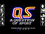A Question of Sport Amiga Choose Your Question Block