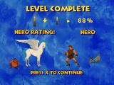 Disney's Hercules  PlayStation Level statistics