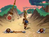 Disney's Hercules  PlayStation Hercules running and avoiding obstacles.