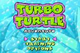 Turbo Turtle Adventure Game Boy Advance Title screen