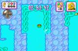 Turbo Turtle Adventure Game Boy Advance The lagoon level