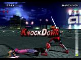 Evil Zone PlayStation Knock down