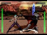 Evil Zone PlayStation Linedwell vs. Gally