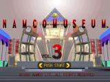 Namco Museum Vol. 3 PlayStation Main menu