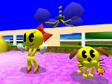 Namco Museum Vol. 3 PlayStation Ms. Pac-Man and her dog