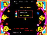 Namco Museum Vol. 3 PlayStation Ms. Pac-Man start screen