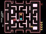Namco Museum Vol. 3 PlayStation Ms. Pac-Man can run sideways
