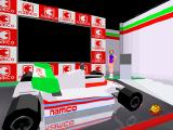 Namco Museum Vol. 3 PlayStation Pole Position II room decorations