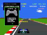 Namco Museum Vol. 3 PlayStation Pole Position II - Control options