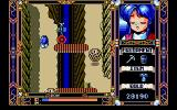 Fray in Magical Adventure PC-98 Narrow path. Don't fall down!