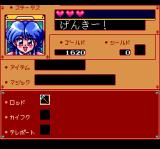 Fray in Magical Adventure CD: Xak Gaiden TurboGrafx CD Inventory