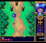 Fray in Magical Adventure CD: Xak Gaiden TurboGrafx CD Bumerang-throwing dudes