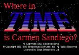 Where in Time Is Carmen Sandiego? Genesis Title
