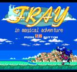Fray in Magical Adventure CD: Xak Gaiden TurboGrafx CD Title screen
