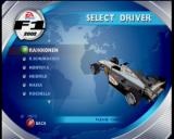 F1 2002 Xbox Selecting a driver