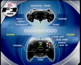 F1 2002 Xbox The loading screen shows you the controls.