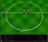 Elite Soccer SNES The game begins