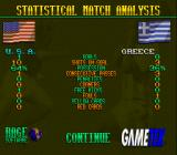 Elite Soccer SNES Statistical match analysis