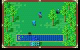Xak: The Art of Visual Stage PC-98 In a forest. Those blue guys just pop out of the ground