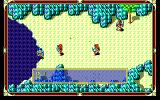 Xak: The Art of Visual Stage PC-98 Crazy red dudes are trying to kill me while I'm standing in a pool of poisonous water. I don't think it was part of the job description