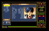 Xak II: Rising of the Redmoon PC-98 Character information