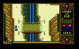 Xak II: Rising of the Redmoon PC-98 Crossing a bridge. Yup. Nothing else but crossing a bridge