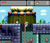 Monster World IV Genesis Down a rope