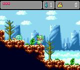 Monster World IV Genesis Fighting green things