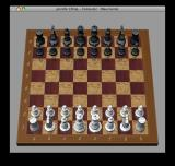 Mac OS X (included games) Macintosh Starting position in the bundled chess game