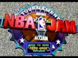 NBA Jam Tournament Edition SEGA Saturn Main Menu