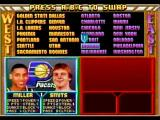 NBA Jam Tournament Edition SEGA Saturn Team selection, ah when Reggie was still playing