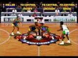 NBA Jam Tournament Edition SEGA Saturn Tip-off