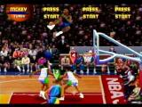 NBA Jam Tournament Edition SEGA Saturn Getting major air time for the slam!