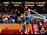 NBA Jam Tournament Edition SEGA Saturn Shoot 3 from the corner