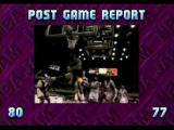 NBA Jam Tournament Edition SEGA Saturn Winning team gets a 5 second video clip of its NBA team in action!