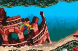Crash Bandicoot: The Huge Adventure Game Boy Advance What's doing a coliseum under sea?