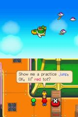 Mario & Luigi: Partners in Time Nintendo DS Practice jump