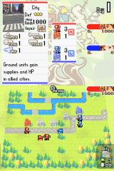 Advance Wars: Dual Strike Nintendo DS In-game shot