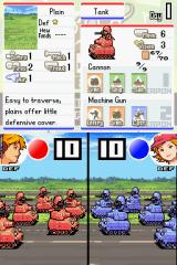 Advance Wars: Dual Strike Nintendo DS The battle animation