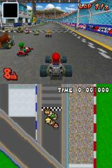 Mario Kart DS Nintendo DS On the starting line