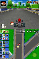 Mario Kart DS Nintendo DS Different bottom screen view