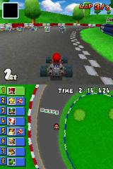 Mario Kart DS Nintendo DS This map version shows extras and traps on the track