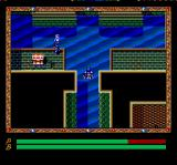 Xak III: The Eternal Recurrence TurboGrafx CD Latok is walking through water